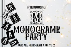 MONOGRAME PARTY Product Image 1