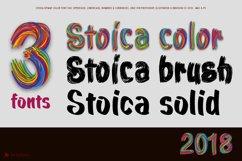 Stoica - Bitmat SVG Color Font Product Image 2