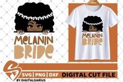 Bride svg, Wedding svg, Black Woman svg, Melanin Bride, Sub Product Image 1