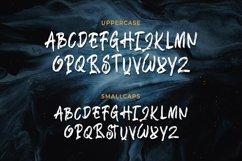 Bangke - Textured Brush Font Product Image 5