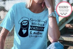 Sloth SVG Bundle - Relaxed & Fun Sloths PNGs Product Image 11
