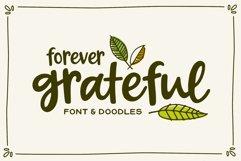 Forever Grateful Font & Doodles Product Image 1