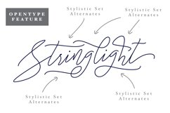 Stringlight Typeface Product Image 4