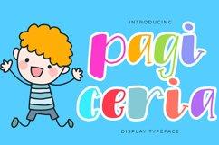 Pagi Ceria Extraordinary Font Product Image 1
