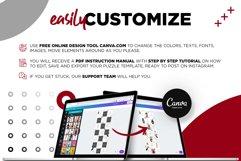 Fashion Minimalist Instagram Puzzle Preset for Canva Product Image 2
