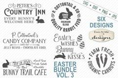 Easter Bundle - Volume 3 - Easter Bunny - SVG Product Image 1