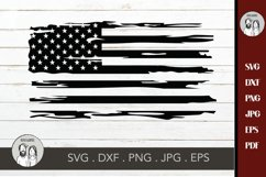 American flag distressed, Distressed USA Flag svg, Product Image 2