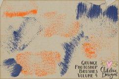 Photoshop Brushes - Grunge Ink Texture Brushes Vol 4 Product Image 4