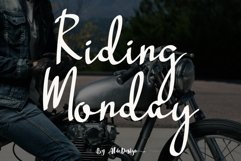 Riding Monday Product Image 1