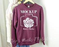 Gildan Sweatshirt Mockup Bundle - Gildan 18000 Mock Up Product Image 2