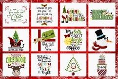 2019 Holly Jolly Christmas Bundle SVG DXF PNG EPS Comm Product Image 4