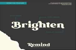 Remind-Modern Serif Font Product Image 2