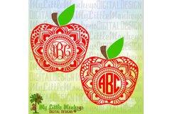Apple Mandala Monogram Base Product Image 1