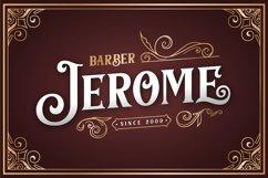 Barthez - Victorian Serif Font Product Image 2