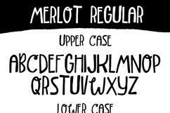 Merlot Font Product Image 5