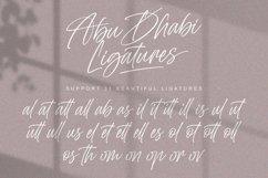 Abu Dhabi - Handwritten Signature Font Product Image 5
