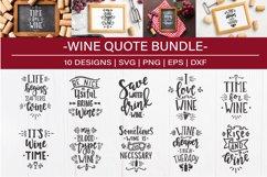 Wine SVG Bundle design set Product Image 1