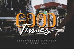 Black Clover Font Duo Product Image 6