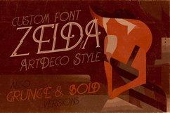 Zelda - ArtDeco Font Product Image 6