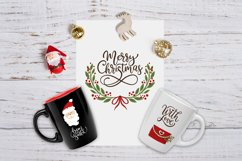 Christmas lettering & Christmas SVG set. Product Image 3