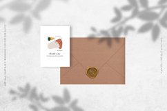 Artisan Abstract Wedding Invitation Suite Product Image 5