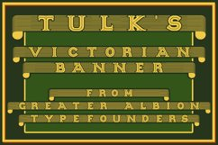 Tulk's Victorian Banner Product Image 1