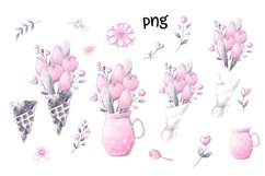 Valentines Gnomes Clipart Product Image 2