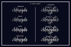 Blossom - 4 Type Star Script Font Product Image 3