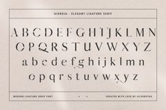 Giorgia - Elegant Ligature Serif Product Image 3
