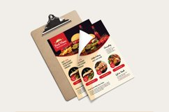 Restaurant Flyer Template Product Image 2