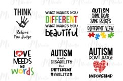 Autism Quotes svg bundle Product Image 7