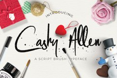 Cashy Allen Typeface Product Image 1