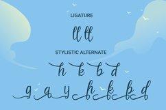 Beach Umbrella - Handwritten Script Font Product Image 4