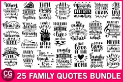 Family svg bundle, family quotes svg, home svg, love svg Product Image 1