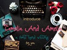 Camelia And Amelia Product Image 2
