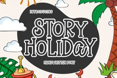 Story Holiday - Handwritten Font Product Image 1