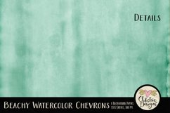 Beachy Watercolor Chevron Background Textures Product Image 4