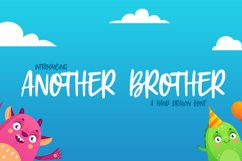 Another Brother Font Product Image 1