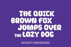 Splatt! a fat, splattered fun font Product Image 5