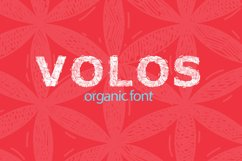 Organic Poster Font Product Image 1