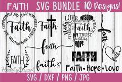 Faith svg bundle, 10 faith designs Product Image 1