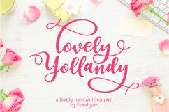 Lovely Yollandy - Script Font Product Image 1