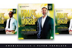 Praise and Worship Flyer Product Image 1