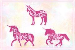 Unicorn SVG Bundle | Unicorn Mandala | Unicorn Monogram SVG Product Image 6