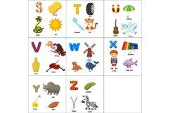 English alphabet with animals Bundle Product Image 3