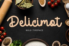 Delicimot Delicious Script Font Product Image 1