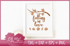 Falling In Love - SVG DXF EPS PNG Cutting File Product Image 2