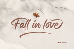 Fall in love Product Image 1