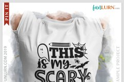 This is My Scary Teacher Costume SVG Cut File Product Image 3