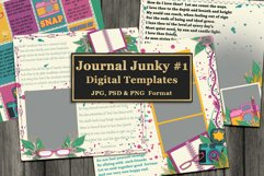 Journal Junky Digital Scrapbooking Templates Product Image 1